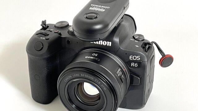 EOS R6 + RC603Ⅱ