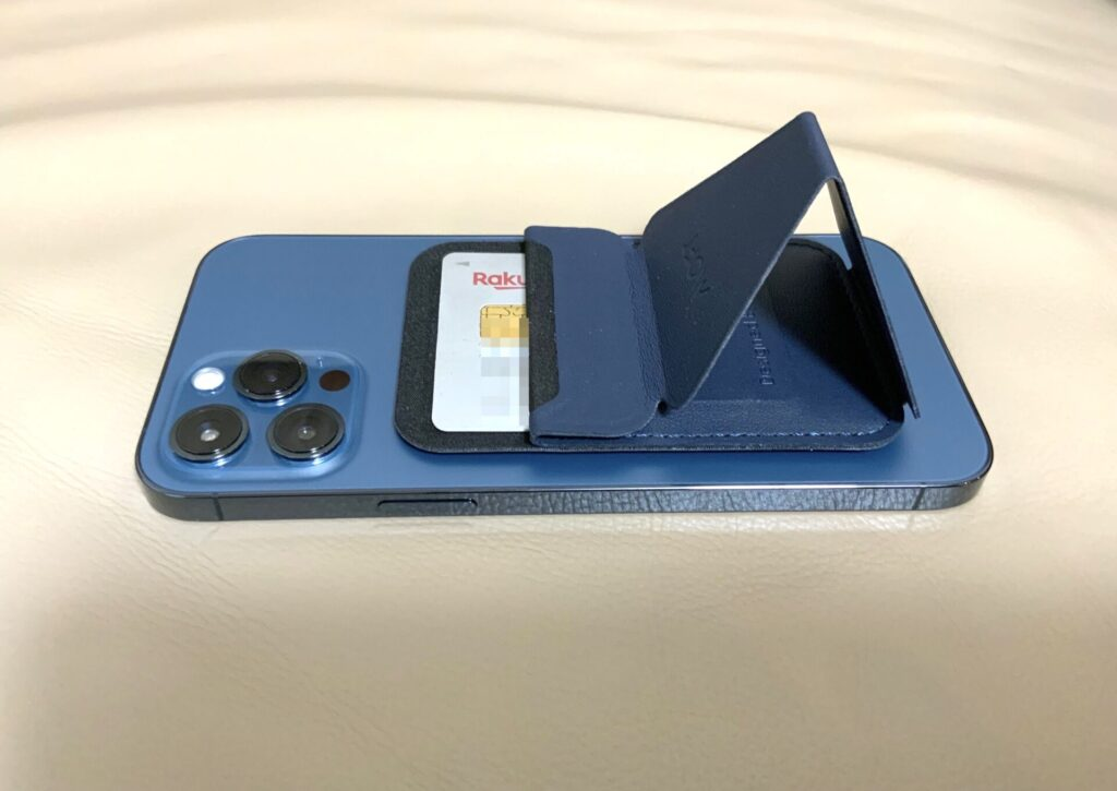 MOFTのスマホスタンド iPhone12専用Magsafe対応スタンドの画像