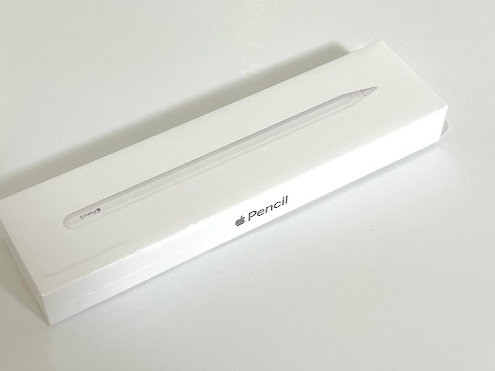 Apple Pencil2の外箱画像