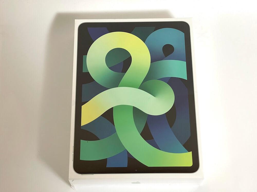 iPadAir4の外箱の画像