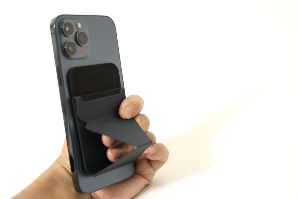 MOFTのスマホスタンド iPhone12専用Magsafe対応スタンドのバンカーリング画像