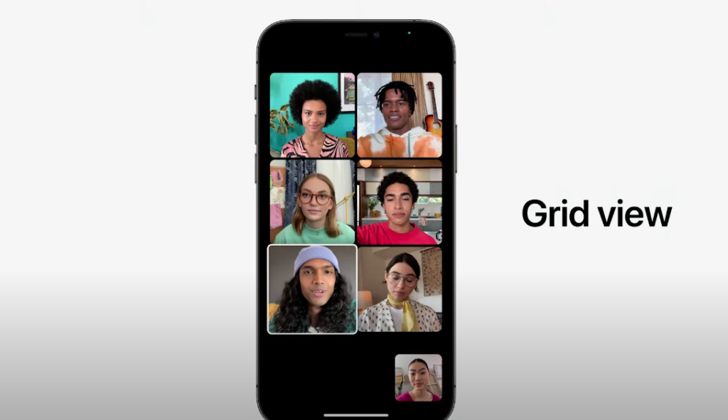 FaceTimeの新機能