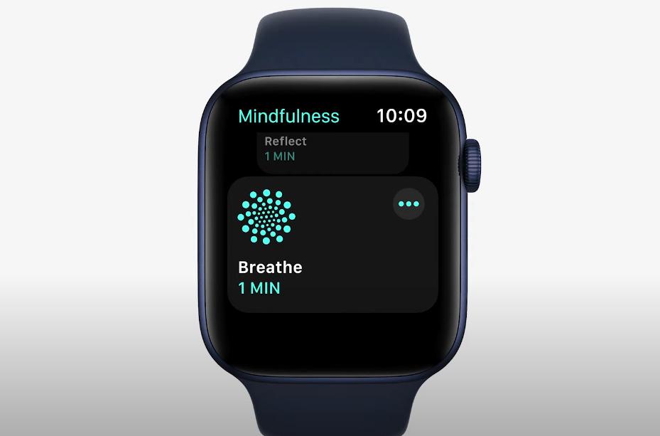 AppleWatchの呼吸機能