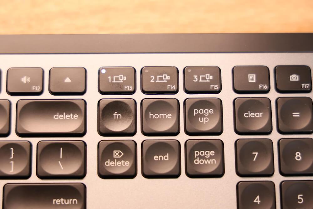 MX KEYS for Macのマルチ接続