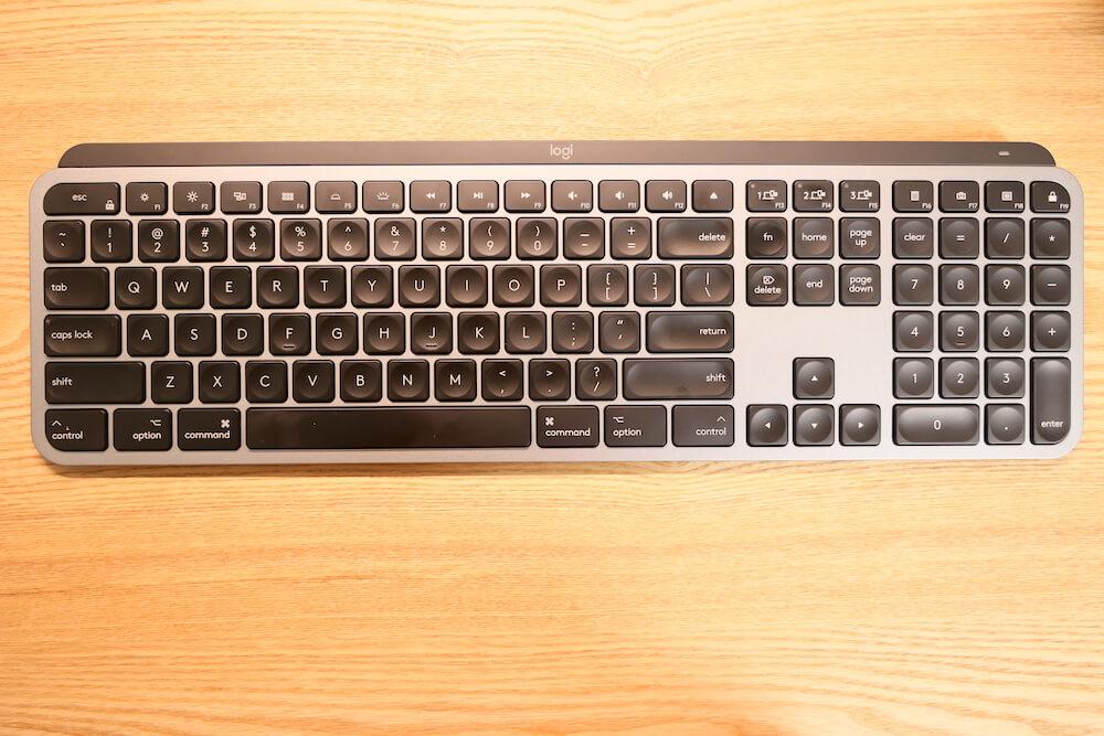 MX KEYS for Macの外観