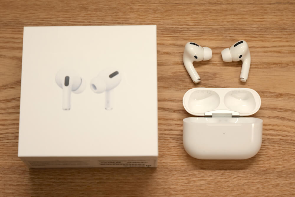 Apple「AirPodsPro」のアイキャッチ画像