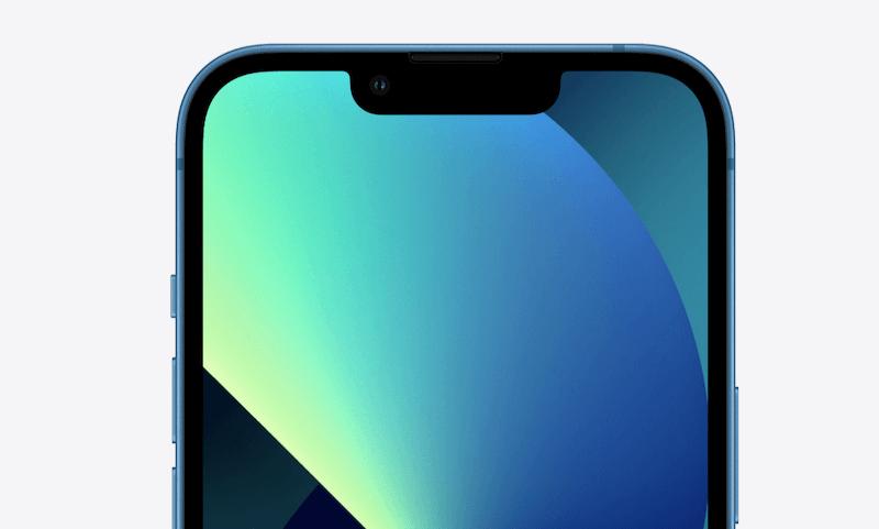 iPhone13のノッチサイズ