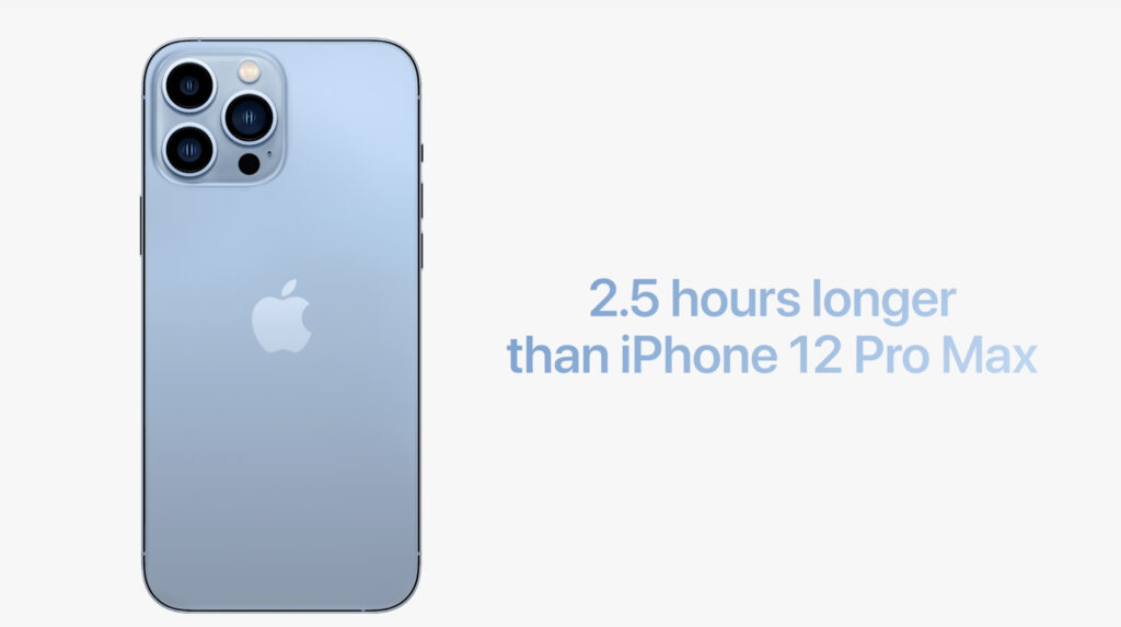 iPhone13Proのバッテリー