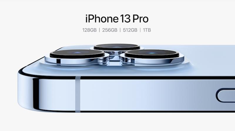 iPhone13Proのストレージ