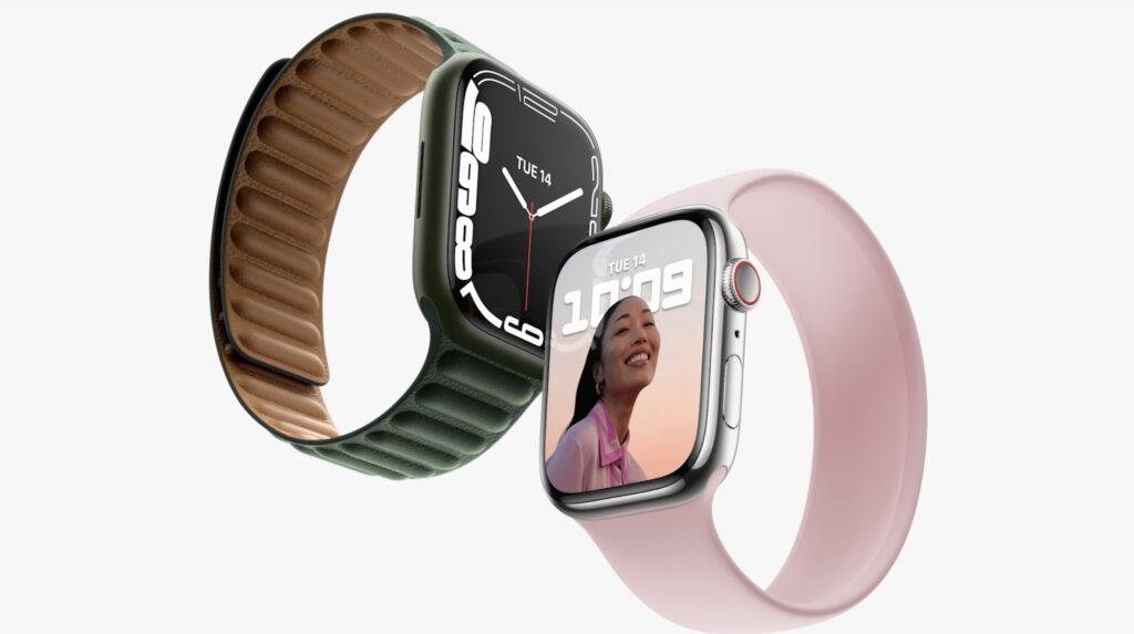 Apple Watchの丸みを帯びたデザイン